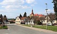 Běchary, main square.jpg