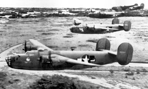 74th Bombardment Squadron - B-24D Liberators flying from Rio Hato Panama, 1944