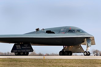 509th Bomb Wing - B-2A returns from a mission as part of Joint Task Force Odyssey Dawn