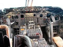 747-200:n ohjaamo