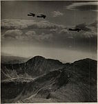 BASA-746K-1-84-11 airplanes in flight above the Rila Lakes Bulgaria.JPG
