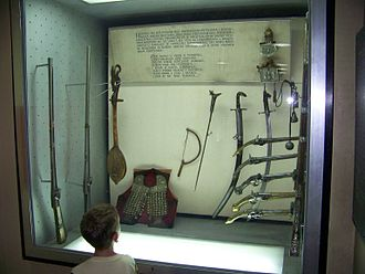Military Museum, Belgrade - Hajduk weapons.