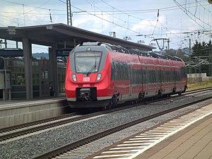 Nuremberg S-Bahn - Bombardier Talent 2 at Neumarkt