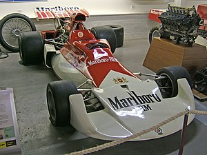 Marlboro (cigarette) - BRM P180: Marlboro's motorsport sponsorship started with the BRM Formula One team in 1972.