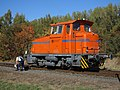 BS Hafenbahn Lok 5 Weiche.JPG