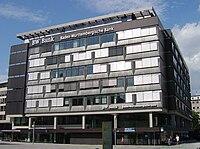 Gebäude der BW-Bank am Sitz in Stuttgart.