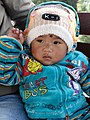 Baby Boy at Station Stop - Darjeeling Himalayan Railway - Outside Darjeeling - West Bengal - India (12432310905).jpg