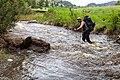 Backpacker crossing Little Cottonwood Creek (2) (42407248792).jpg