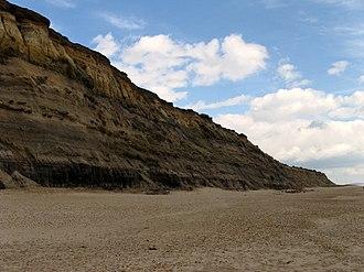 Hengistbury Head - Warren Hill as seen from the beach, 2008
