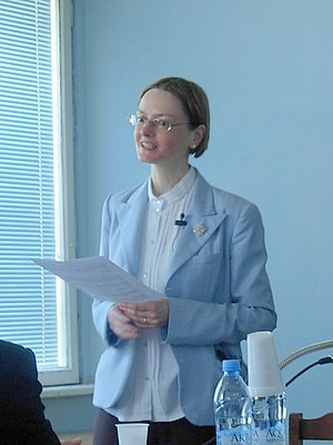 Balbina Bäbler - Balbina Bäbler at Moscow State University