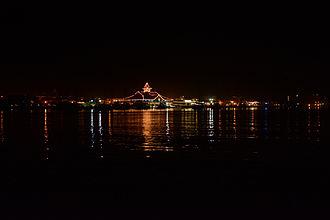 """Balboa Pavilion - The """"Balboa Pavilion"""" at night"""