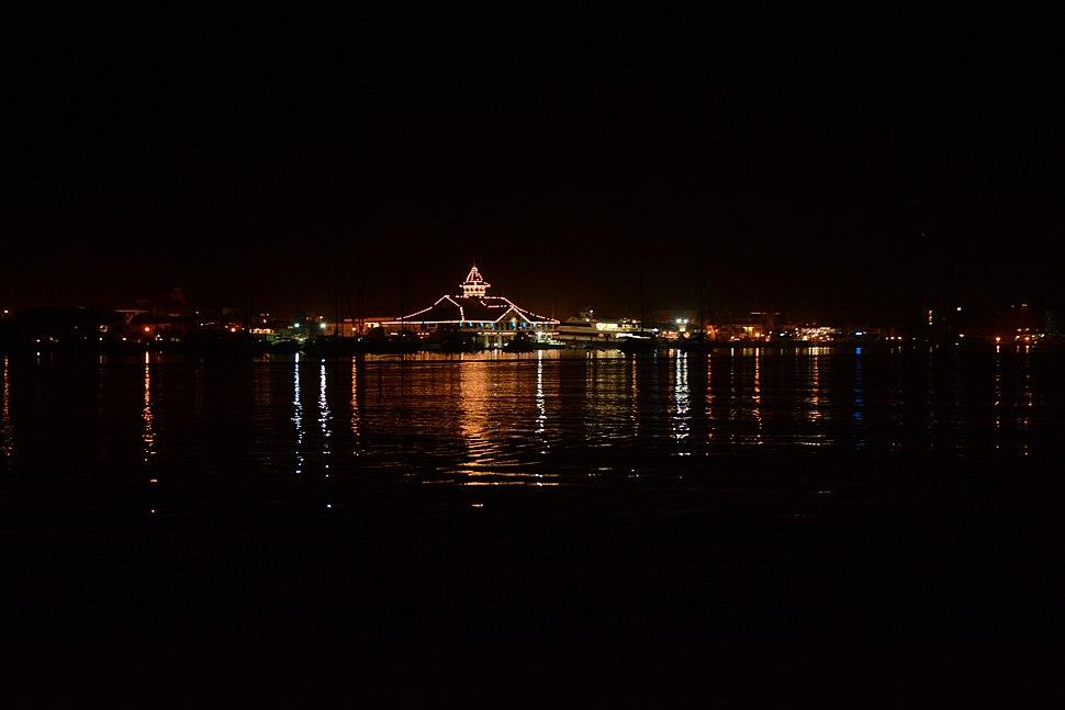 Balboa Pavilion night time photo D Ramey Logan