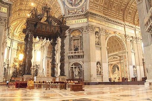 Baldachin of Saint Peter's Basilica (1)