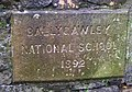 Ballygawley National School plaque - geograph.org.uk - 1024771.jpg