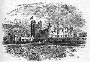 Balmoral Castle - Balmoral Castle - a principal keep similar to that of Craigievar Castle is the central feature of the castle, while a large turreted country house is attached