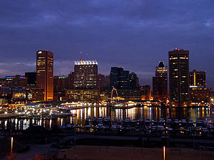 Baltimore–Washington metropolitan area - Baltimore's Inner Harbor