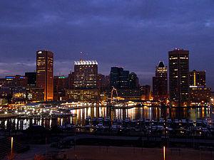Baltimore–Washington metropolitan area - Baltimore's Inner Harbor