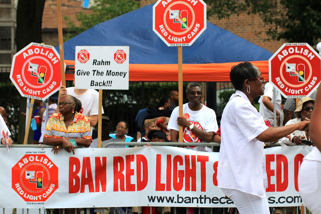 File:Ban Red Light Cameras Chicago Steppers Mashup at the