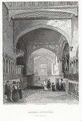 Bangor Cathedral. The Choir