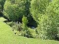 Bank slippage by Dockens Water, Black Heath, New Forest - geograph.org.uk - 185072.jpg
