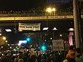 Banner drop Marcha por el Clima 6 Dec Madrid -COP25 IMG 4365 (49182991292).jpg
