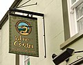 Bar sign, Strangford - geograph.org.uk - 1607029.jpg