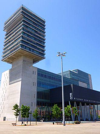 Bilbao Exhibition Centre - BEC entrance.