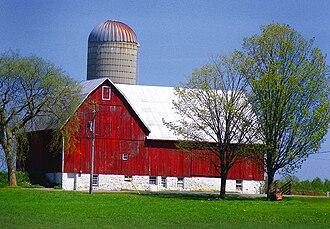 Peterborough County - Rural scene, Peterborough County, near Lakefield, Ontario