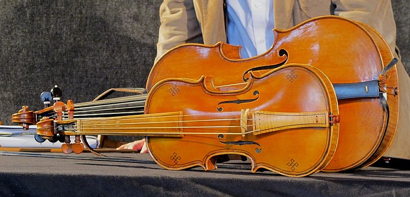 File:Baroque violin and Violoncello da spalla.jpg