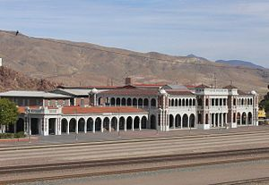 Fred Harvey Company - Image: Barstow, CA train station