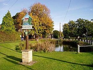 Barton, Cambridgeshire - Image: Barton village pond geograph.org.uk 63391