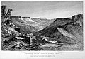 Basalt Glen - River Santa Cruz' Engraving after Conrad Martens.Wellcome L0022910.jpg