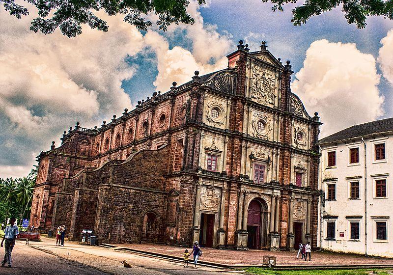 File:Basilica of Bom Jesus, old goa.JPG