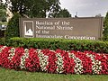 Basilica of the National Shrine of the Immaculate Conception Sign 01.jpg
