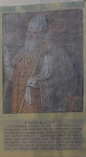 Basilika Seckau, Bischofskapelle, Halbfigurenportrait Bischof Friedrich II. von Perneck.jpg