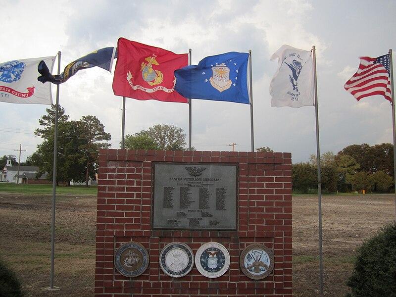 File:Baskin, LA, Veterans Memorial IMG 0335.JPG