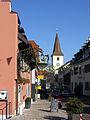 Basler Straße in Bad Krozingen mit St. Alban.jpg