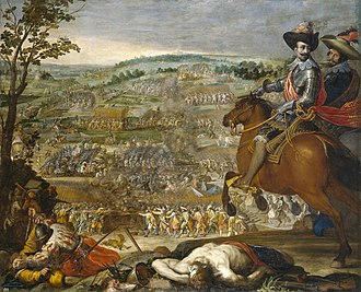 Battle of Fleurus (1622) - The Victory of Fleurus, 1634 painting by Vincenzo Carducci