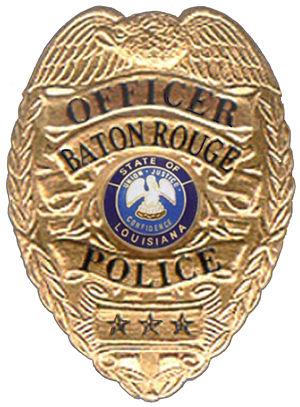 Baton Rouge Police Department - Image: Baton Rouge Badge