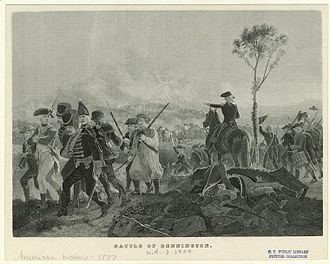 Battle of Bennington - Battle of Bennington, c. 1900