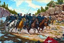 U Batteries Battle of Glorieta Pas...