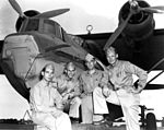 Battle of Midway PBY torpedo attack pilots in June 1942.jpg