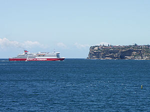 TT-Line Company - Spirit of Tasmania III entering Sydney Harbour