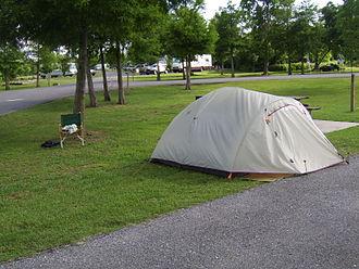 Bayou Segnette State Park - Picnic area at Bayou Segnette State Park.