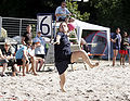 Beachhandball Penaltyshoot 02.jpg