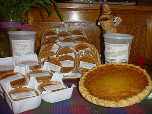 Bean pie - A selection of bean pies