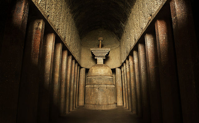6th place: Bedse Caves by Soumitra Inamdar