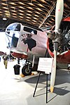 Beech AT-11 bomber with pinup nose art - Texas 2015.jpg