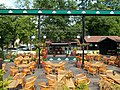 Beer Garden in the Central Park, Gyömrő, Hungary.jpg