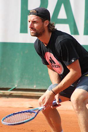 Andre Begemann - Begemann at the 2015 French Open